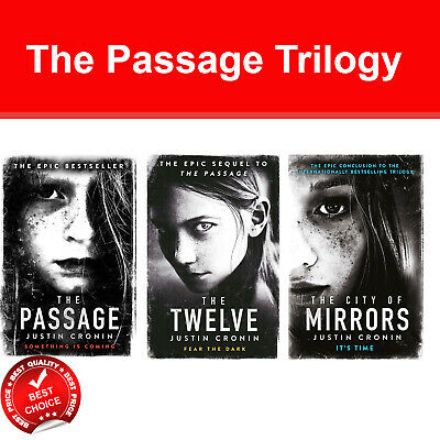 Justin Cronin The Passage Trilogy 3 Books Collection Set Twelve, City of Mirrors