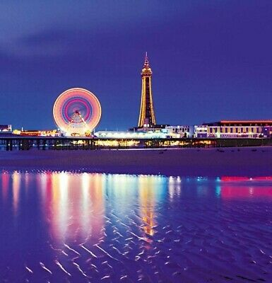Blackpool Tower Eye and Madame Tussauds 4x Tickets on17 May 2019