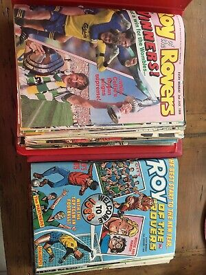 52 x ROY OF THE ROVERS from 1988 - Complete Year