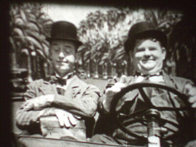 BUSY BODIES - Laurel & Hardy B&W 16mm sound film 1933 (No titles or credits)