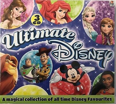 Ultimate Disney - Various Artists - 2018 (3xCD) New Sealed Free UKP&P