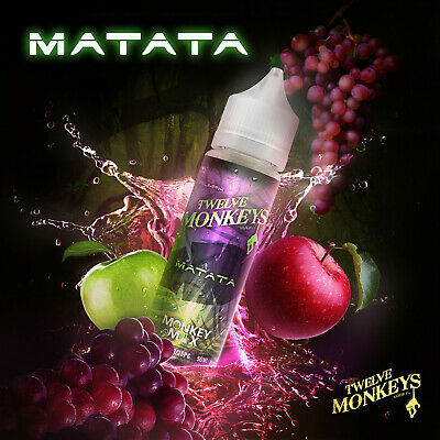 Twelve Monkeys Liquid 50 ml - Premium E-Liquid  Shake`n`Vape  Twelve Monkeys Mix