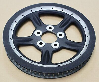 Harley original Sportster Belt Pulley Sprocket Alu schwarz black 68T