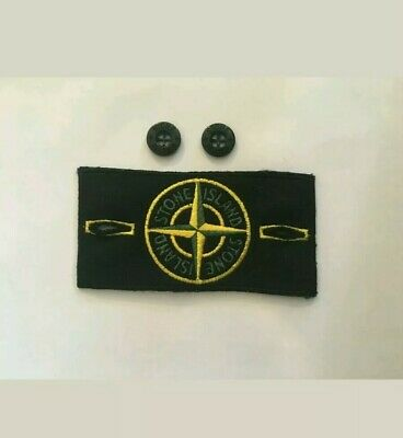 Stone Island Badge replacement with buttons