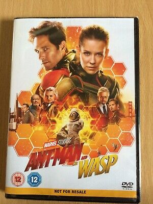 Ant-Man and the Wasp DVD New (2018 Marvel Film) - Paul Rudd, Evangeline Lilly