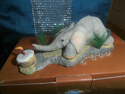 tuskers collectable henry elephant,love is a birthday treat,perfect