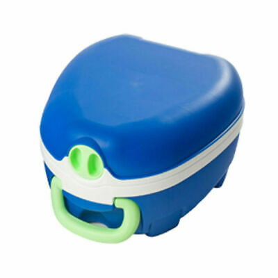 MY CARRY POTTY Childrens Training Portable Travel Potty With Lid No Leaks - Blue