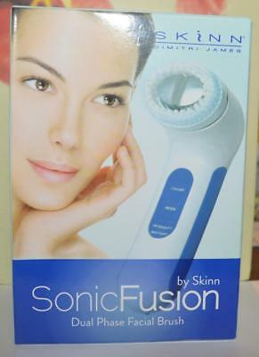 SKINN Sonic Fusion Dual Phase Facial Brush ~ BRAND NEW IN BOX