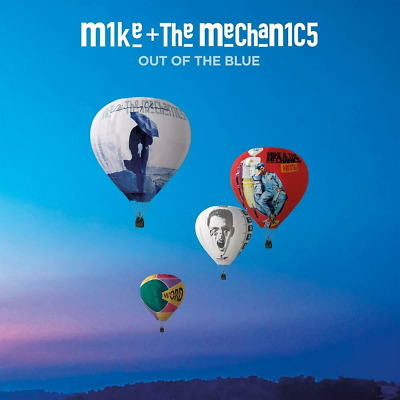 MIKE + THE MECHANICS OUT OF THE BLUE CD - New CD Album - Released 05/04/2019