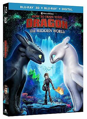 How to Train Your Dragon: Hidden World (3D + 2D Blu-ray) BRAND NEW PRE-ORDER