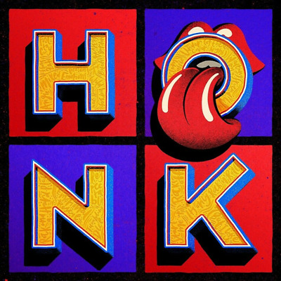 ROLLING STONES HONK (Greatest Hits) 2CD EDITION Released 19/04/2019