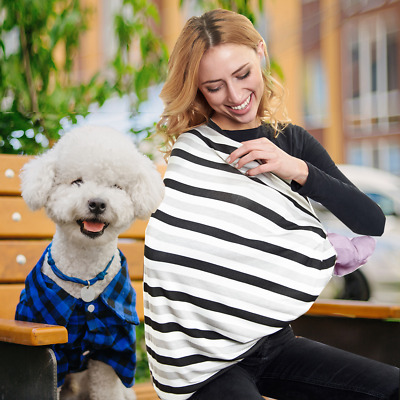 Breathable, Stretchy Multi-Use Nursing Cover, Car Seat Cover