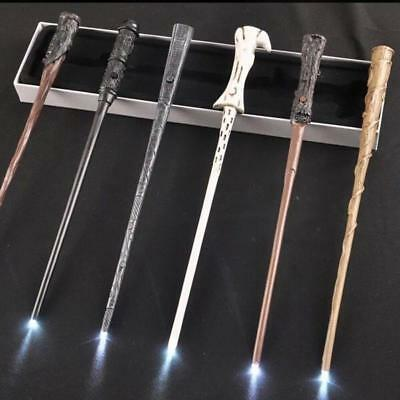 LED Harry Potter Hermione Granger Dumbledore Ron Sirius Voldemort Magic Wand 1PC