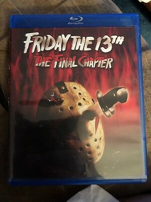 Friday the 13th - Part 4: The Final Chapter (Blu-ray Disc, 2017)