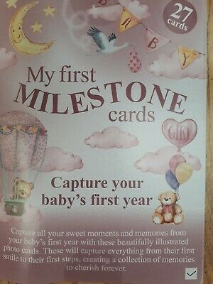 My first Milestone cards capture your babys first year