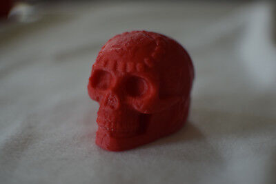 Aztec Death Whistle in Red
