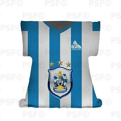 Huddersfield Town FC Official Personalised HTAFC Home 2019 Shirt Cushion HSSC001