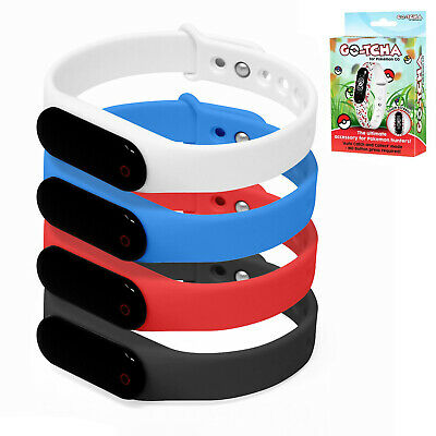 Pokemon GO-TCHA Wristband / Datel GO-TCHA for Pokemon Go / Take Your Pick #K1