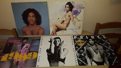 Joblot/collection Of 8 Prince Lp & 12' Records
