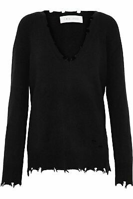 5957b6da IRO JEANS WOMEN'S Brody Shredded Sweater Black Size XS - $138.95 ...