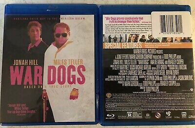 WAR DOGS -Jonah Hill, Miles Teller (Blu-Ray Disc + Digital) New. Free Shipping