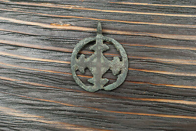 Odin's Ancient Cross Viking Amulet Sun Pendant Authentic Artifact 900-1000 AD