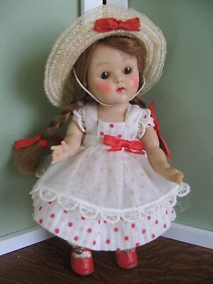 """VOGUE GINNY Strung Doll """"LUCY"""", """"1952"""" Tiny Mis Series #39 Adorable!"""