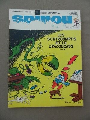 Spirou    1579   +  Mr  +  Supplement  Poster  Geant  Boule Et Bill  Ttbe