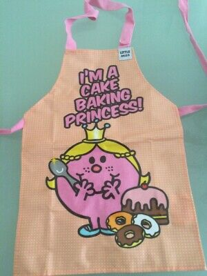 Children's Apron Little Miss men princess Cookery Baking painting i can cook