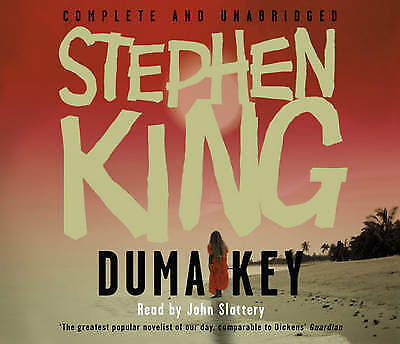 Duma Key by Stephen King (18 CD's - Audio, 2008) New & Sealed