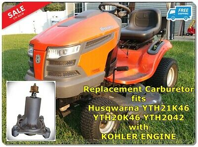 "46"" HUSQVARNA YTH20K46 Riding Mower —!!!!!MAKE OFFER!!!!!! - $599 00"