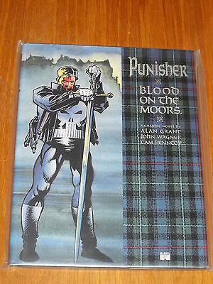 PUNISHER BLOOD on the MOORS Graphic Novel Hard Cover w/ dust jacket MINT Unread