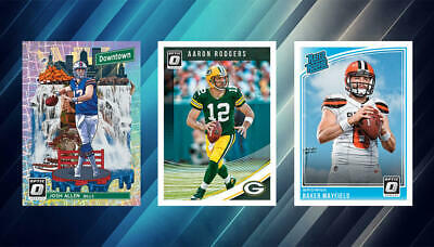 2018 Donruss Optic Football Inserts / Parallel Cards You Choose Pick Your Player