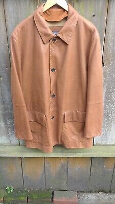 124124620 Beautiful Vintage Canali Men s Leather Jacket Lined Made In Italy ...
