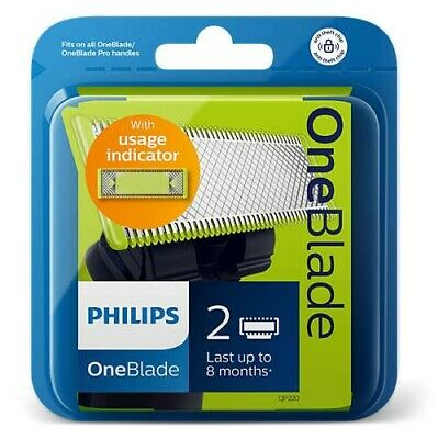Lot de 2 lames de rasoir one blade philips oneblade PACK QP220