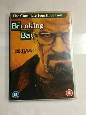 Breaking Bad - Series 4 - Complete DVD  NEW & UNsealed CC2