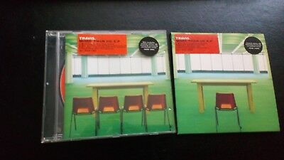 """Travis """" More Than Us E.p"""" Both Versions Card & Jewel Case Cd's"""