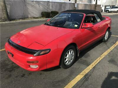 1992 Celica GT 1992 Toyota Celica GT 114,787 Miles red convertible 4 Cylinder Engine 2.2L/132 A