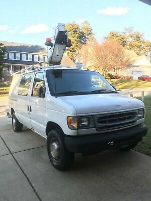 2001 Ford E-Series Van  2001 Ford E-350 Bucket Van (HAS NEW ENGINE - 2018)