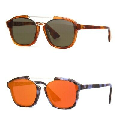 2cd4938aa72a CHRISTIAN DIOR SQUARE Abstract Sunglasses Havana Brown Green 056 2M ...