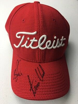 Titleist PRO V1 FJ Red Embroidered New Era Baseball Cap, Size Medium/Large