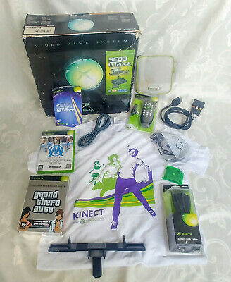 Gros lot microsoft Xbox *empty box* boîte vide + GTA + official products kinect