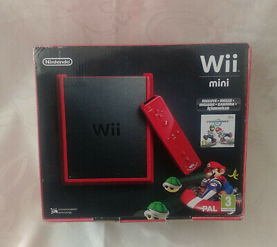 Nintendo Boite vide EMPTY BOX Wii Mini collector Mario Kart MK collector 100%