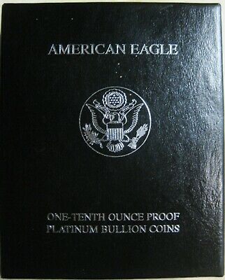 2000 W American Eagle One-Tenth Ounce Proof Platinum Bullion Coin