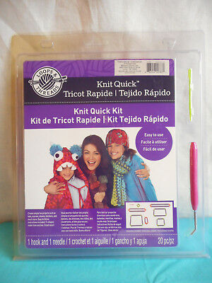 New Loops & Threads Knit Quick Kit Hook Needle Frames Michaels Stores 318680