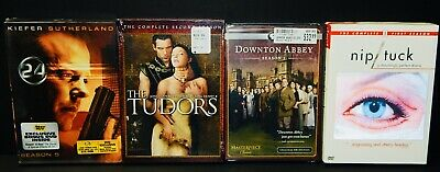 24-Season 5 - DOWNTOWN ABBEY Season 2 - NIP TUCK Season 1 - THE TUDORS Season 2