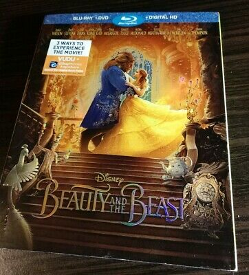 Beauty and the Beast (Blu-ray Disc ONLY, 2017)