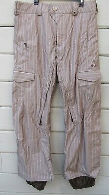 EUC BURTON BROWN Snowboard Ski Snow Pants Women's sz M