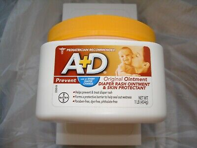 A + D Original Ointment Diaper Rash Ointment and Skin Protectant -1 lb