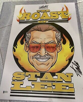 Stan Lee Hand Signed Photo With COA BECKETT